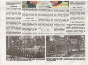 Artykuł o obozie w Hucie Komorowskiej 2