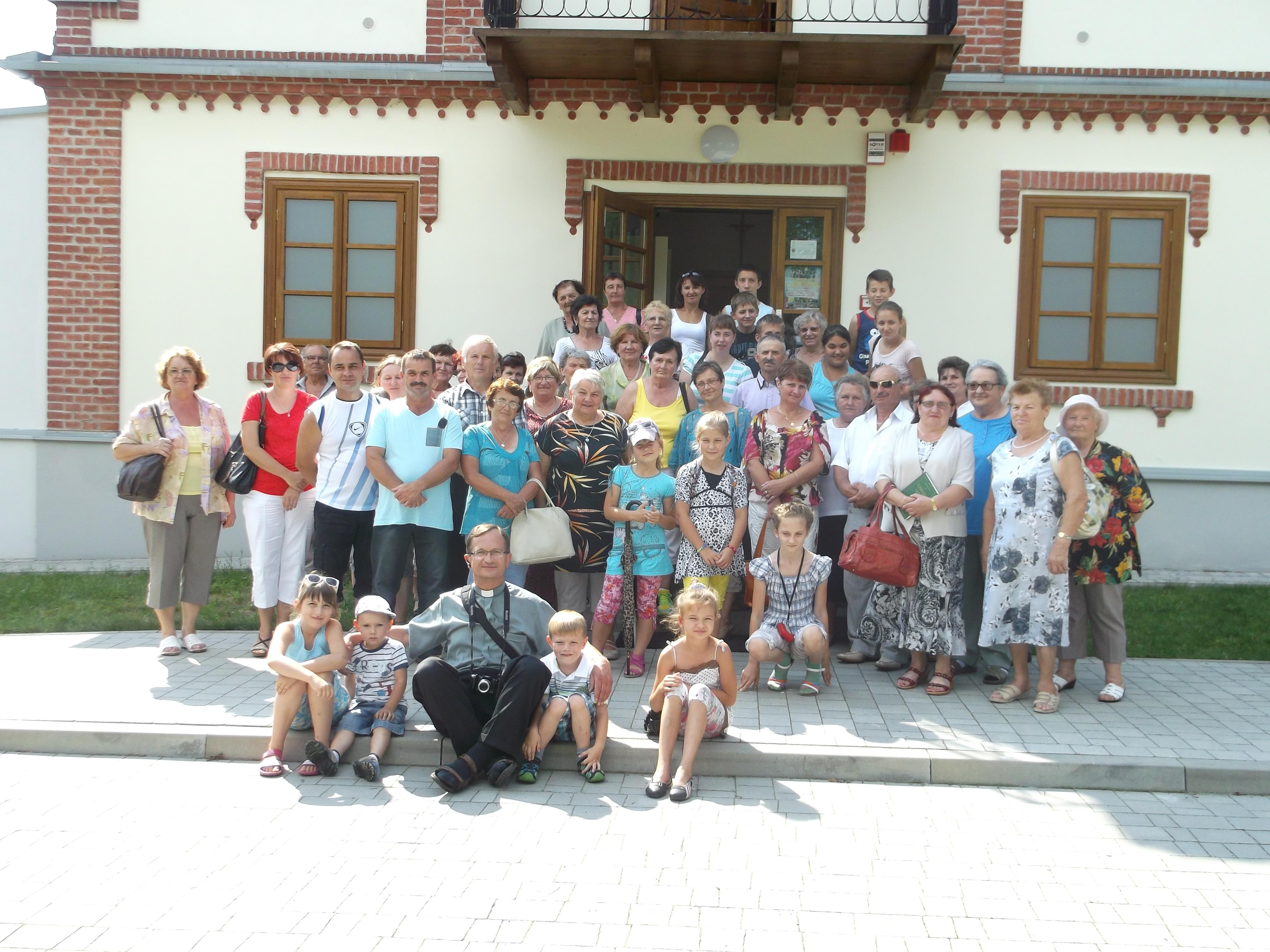 Grupa z Parafii Wydrza, 27.07.2014