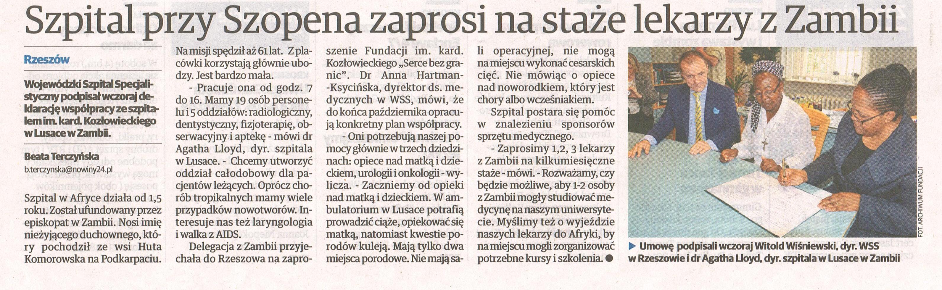 Nowiny, 02.10.2014