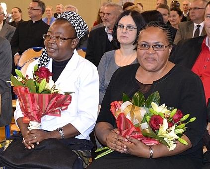 Odwiedzili nas - s. Mubanga i Pani Lloyd