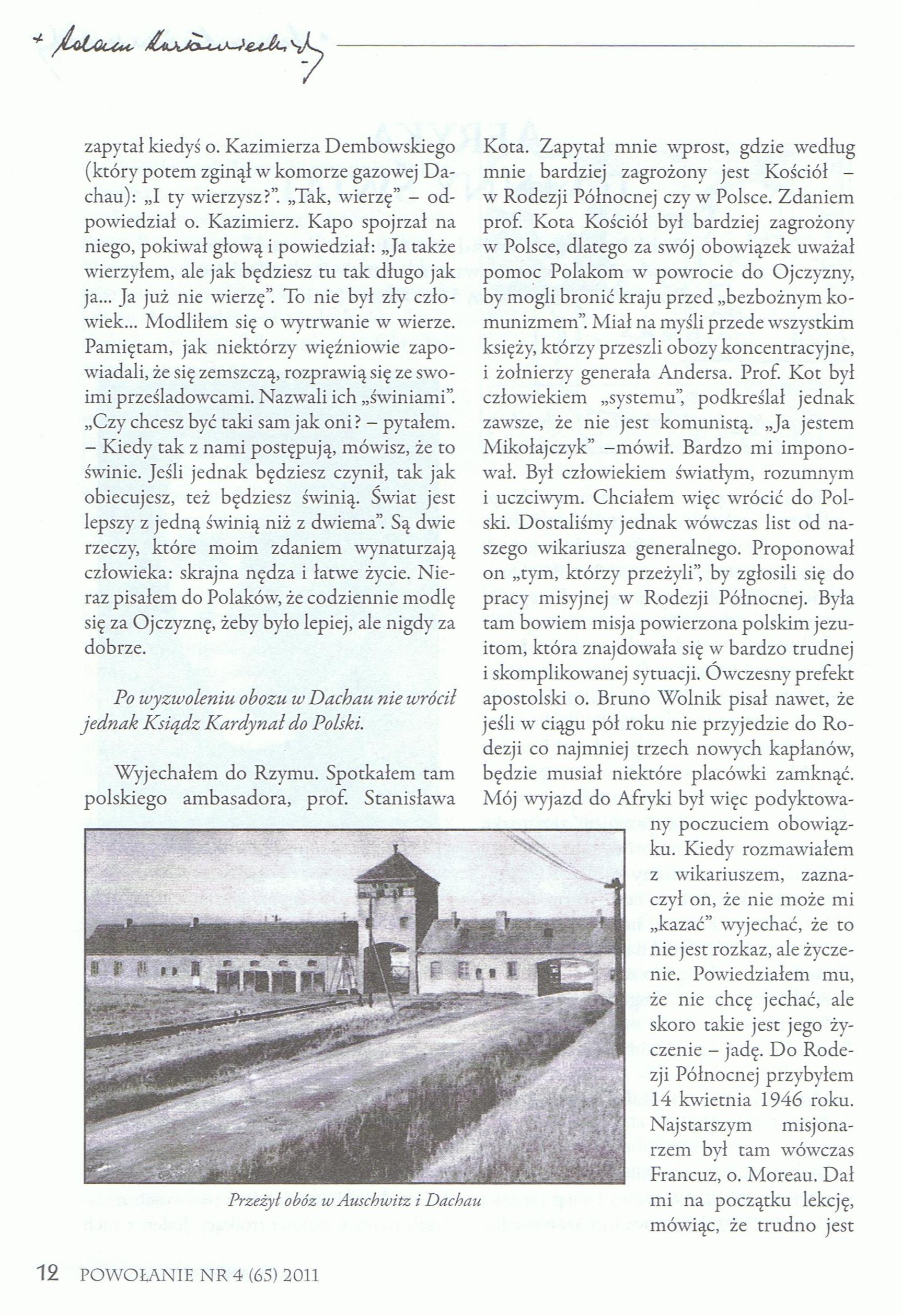 Powołanie, str. 16
