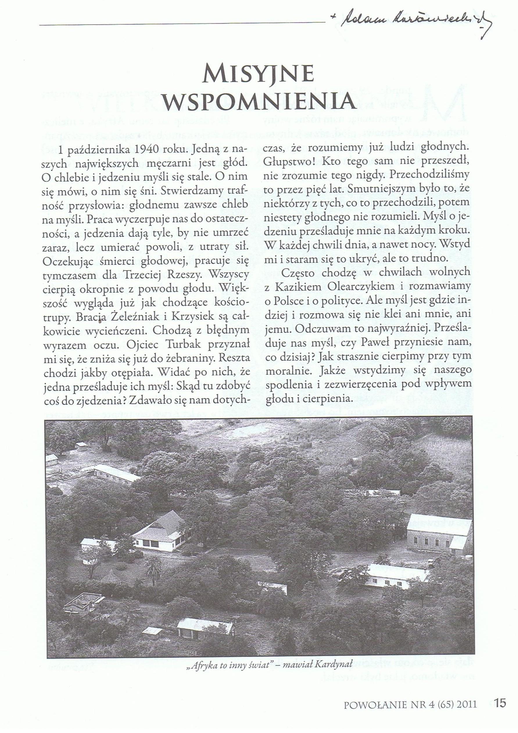 Powołanie, str. 19