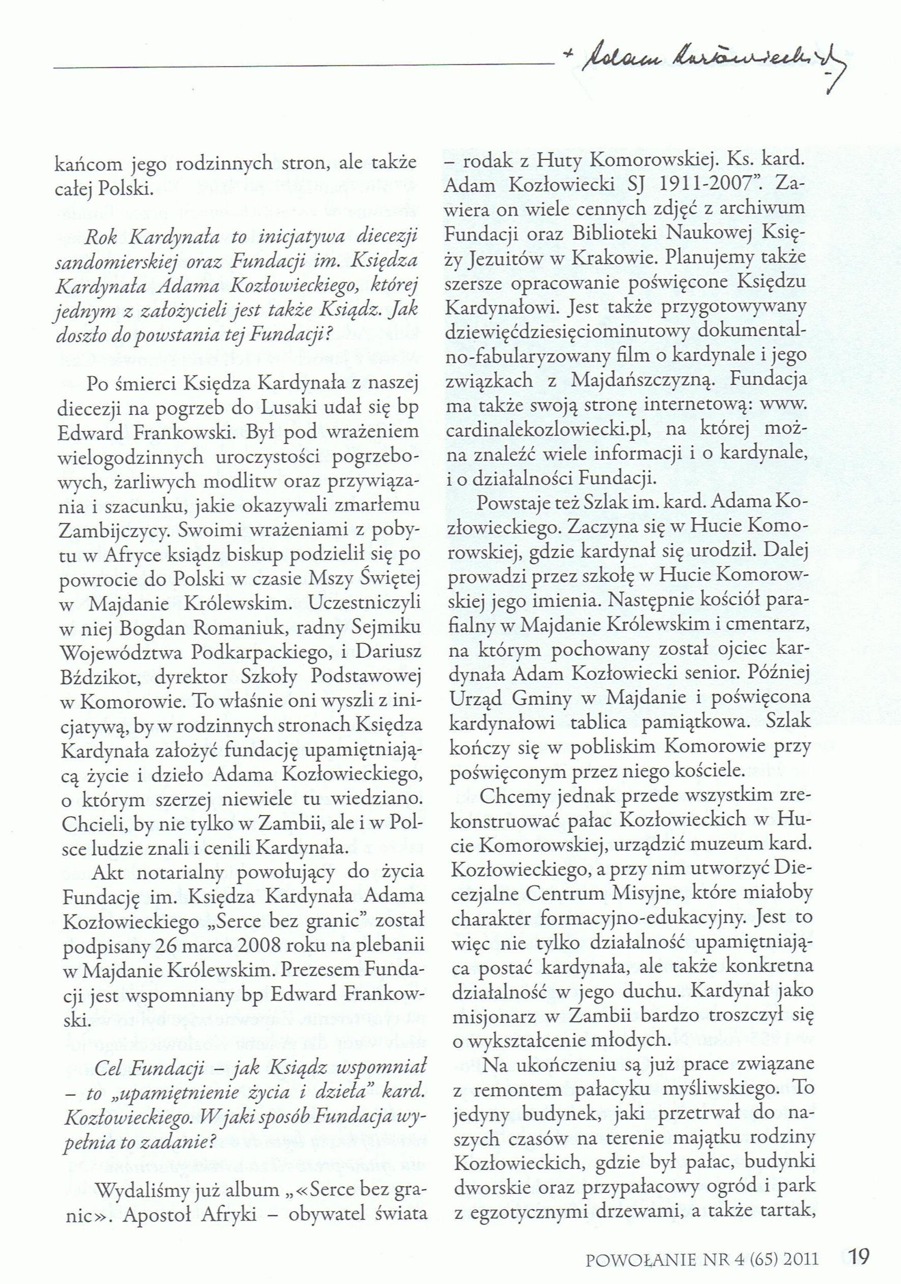 Powołanie, str. 23