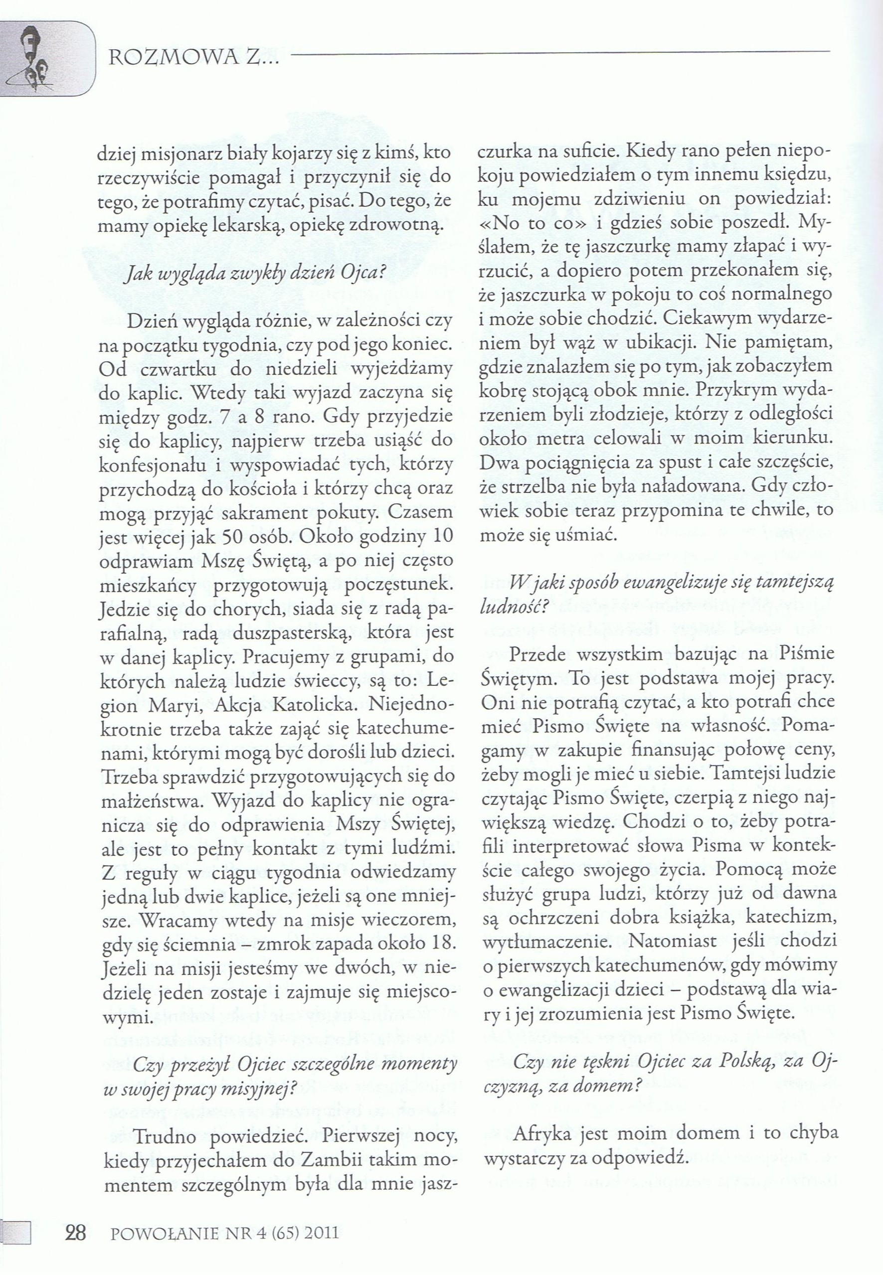 Powołanie, str. 28