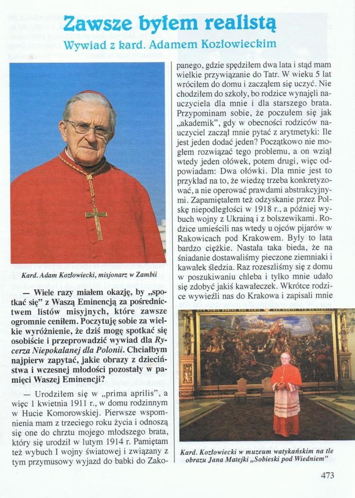 Rycerz Niepokalanej, str. 1