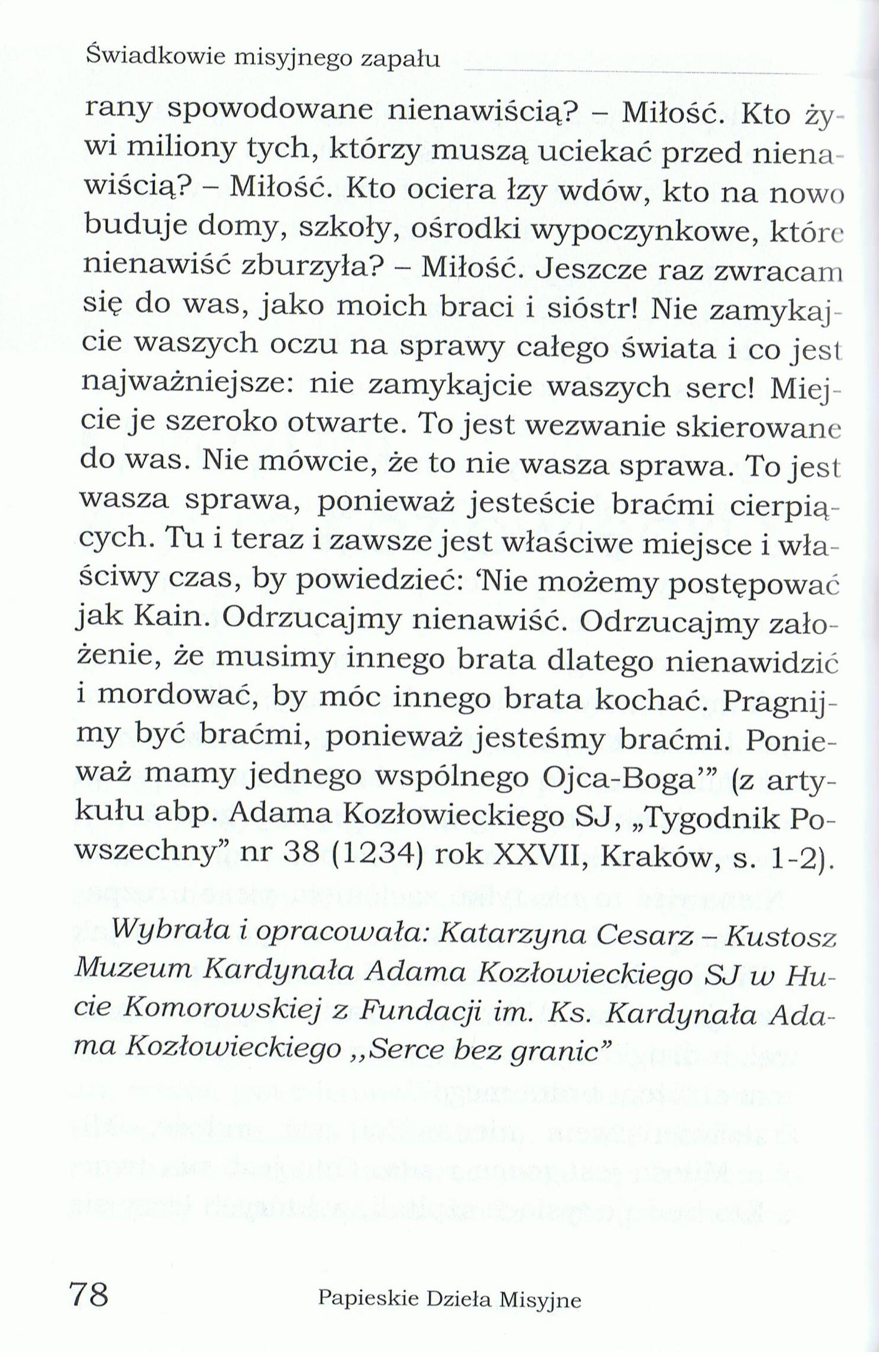 Tekst, cz. 2