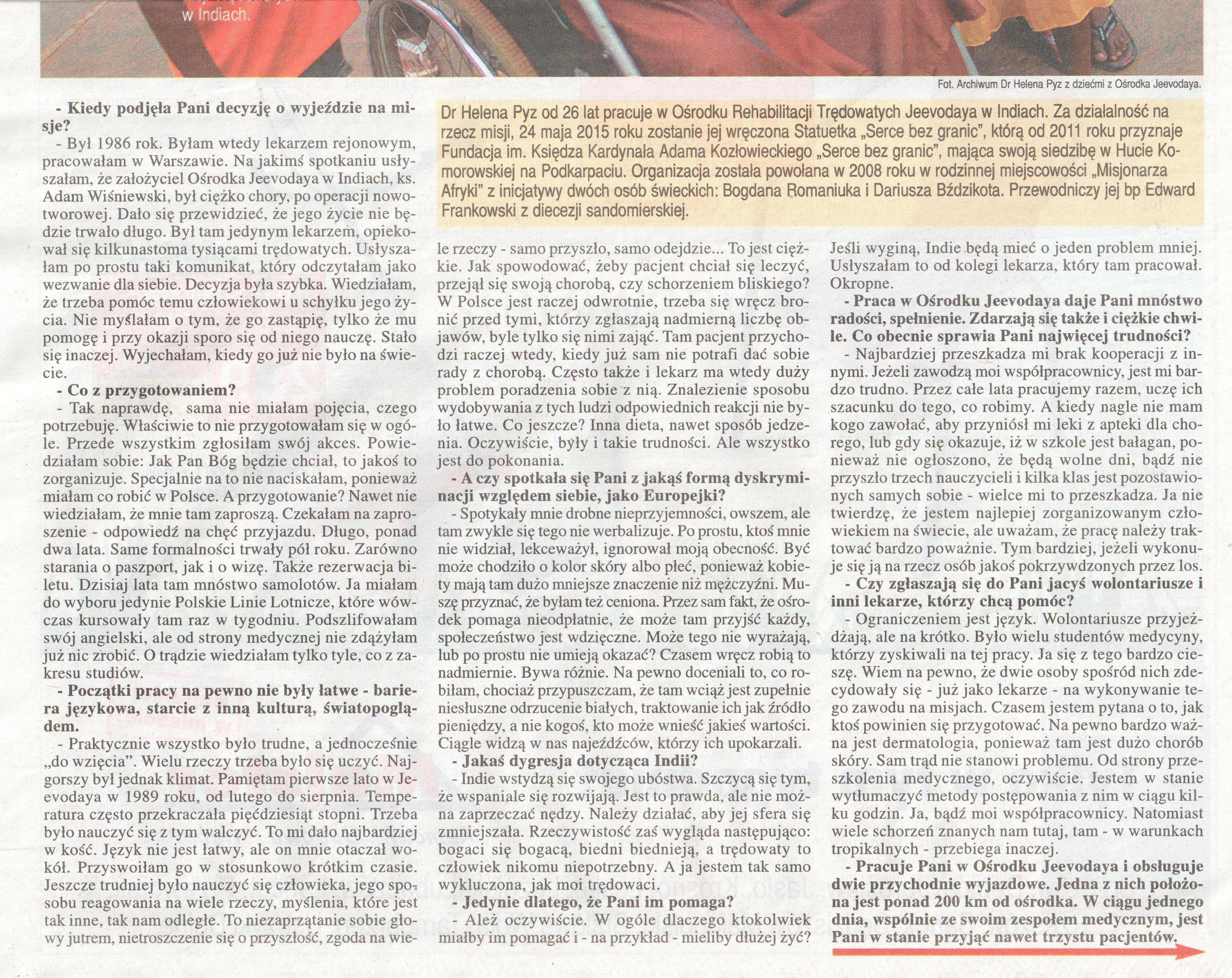 Wywiad z Panią dr Heleną Pyz, cz. 2